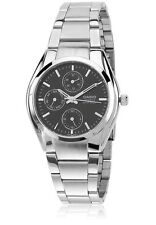 MTP-1191A-1A Black Casio Men's Watches Analog Stainless Steel Band New