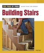 Building Stairs by Andy Engel (2007, Paperback)