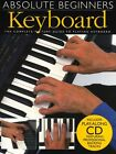Absolute Beginners Keyboard Learn to Play Starter Easy Lesson Music Book & CD