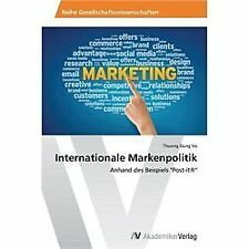 Internationale Markenpolitik by Vo Thuong Dung (2013, Paperback)