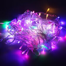 Waterproof 100-600 LED Christmas Wedding Party Fairy Lights Garden Outdoor Lamps