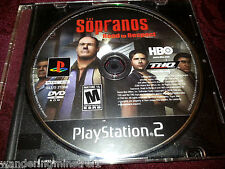 SOPRANOS ROAD TO RESPECT PS2 PLAYSTATION 2 GAME Tested good! Game disc only