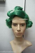 OOMPA LOOMPA GREEN WIG Willy Wonka Chocolate Costume @@ Halloween Quality