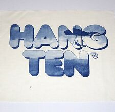 HANG TEN 70s T-SHIRT PRINT POSTER ART AD FLYING HANG GLIDER t&c skydiving wings