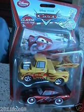 cars 2 carz 2 funny car mater and pinstripe mcqueen 5°serie rara disney+2 cards