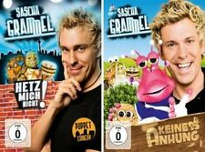 * 4 DVDs * 2x Sascha Grammel : Keine Anhung/Ahnung + Hetz mich nicht ! * NEU+OVP