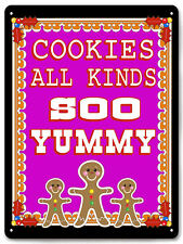 BAKERY cookie candy shop METAL Sign diner Wall decor kitchen desplay plaque 589
