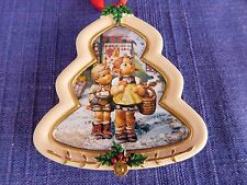 "Hummel - Danbury Mint CHRISTMAS ORNAMENT ""To Market"" TREE"