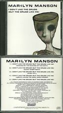 RARE / CD - MARILYN MANSON : I DON' T LIKE THE DRUGS