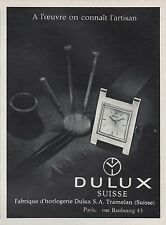 Publicité Montre DELUX Suisse  Watch photo vintage print ad  1963  - 4i