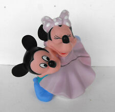RARE Disney Mickey and Minnie HUGGING soaky soakie near mint condition Grosvenor