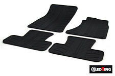 High Quality Black Rubber Tailored Car Mats - Audi Q5/SQ5 8R (08 on) + Clips