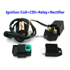 ATV Ignition Coil CDI Solenoid Relay Rectifier Regulator For Kazuma Meerkat 50cc