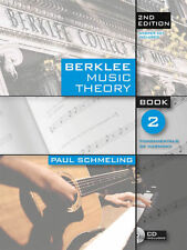 Berklee Music Theory Vol.2 2nd Edition Book Cd NEW! 50% OFF