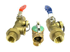 """3/4"""" Tankless Water Heater Valve Kit NSF Approved"""