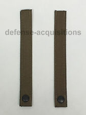 SET OF 2 Military MOLLE Replacement Straps 8.5 INCH Tactical Pouch Pack COYOTE
