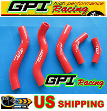SILICONE RADIATOR COOLANT HOSE KIT HONDA CR125R CR 125 CR125 1998-1999 98 99 RED