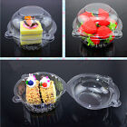 2015 New 20pcs/set Plastic Single Cupcake Muffin Case Pods Domes Cup Cake Boxes