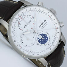 ETERNA TANGAROA KALENDER CHRONOGRAPH MONDPHASE MOONPHASE 42mm 2949.41.61.1260