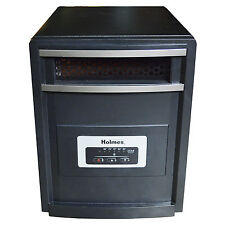 Holmes Large Room Infrared Quartz Space Heater Electric 1000W Black