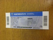 22/03/2014 Ticket: Portsmouth v York City  . Thanks for viewing this item, we tr