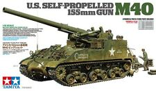 1/35 Tamiya US Self-Propelled 155mm Gun - M40 #35351 - New