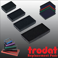 Trodat Printy Line Rubber Stamp Replacement Pads BLACK BLUE RED GREEN VIOLET etc
