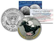 KELSO *5 Time Horse of the Year* Racehorse Colorized JFK Half Dollar U.S. Coin
