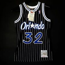 100% Authentic Shaquille Shaq O'Neal Oneal Mitchell Ness Magic Jersey Size 36 S