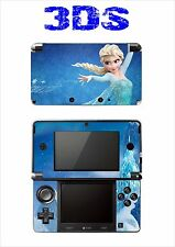 DISNEY FROZEN VINYL SKIN STICKER FOR NINTENDO 3DS REF 188 FROZEN