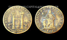 Jeton Chambre aux Deniers Louis XIV°. 1658. Bronze. Réf: F 2544