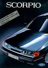 Ford Scorpio 7/85 Prospekt brochure 1985 Auto PKWs Deutschland Broschüre Europa
