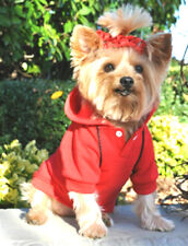 Dog Sweat Shirt yorkie chihuahua toy poodle Dog Hoodie Jumper clothes Ships Usa