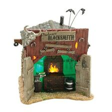 Dept 56 Snow Village Halloween HACKMANN'S BLACKSMITH SHOP 4036593 45% OFF RETAIL