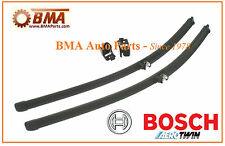 Factory OEM Bosch AUDI A4 S4 A6 S6 Windshield Wiper Blade Set L&R 3397118933