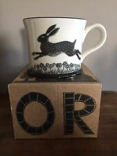 NEW Moorland Pottery Hare mug - Gift Boxed - Rabbit