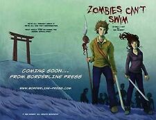 NEW - Zombies Can't Swim, Herbst, Kim - Paperback Book | 9780992697266