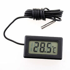 LCD Digital Fridge Freezer Thermometer Temperature Refrigerator Aquarium UK POST