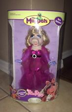 Porcelain Miss Piggy doll 25 year anniversary