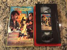 CON FUEGO EN LA SANGRE RARE VHS 1997 SPANISH MEXI ACTION VALENTIN TRUJILLO OOP!