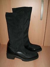 Rohde Damen Stretch Stiefel, Gr. 3,5, 36,5, gepflegte Markenschuhe