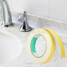 5M Roll 22MM White Adhesive Seal Strip Shower Floor Corner Sink Sealant Tape