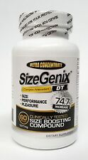 SizeGenix * 1 Bottle * MFG Direct * Clinically Proven To Increase Size, Hardness