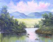 Dorothy Dent, DVD Getting Started-Oil Landscape PAINTING WITH EASY APPLE DVD