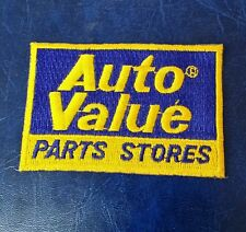 AUTO VALUE PARTS STORES LOGO PATCH