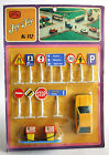 RARE VINTAGE 70'S JOY TOY No 112 SCIROCCO STREET SIGNS MADE IN GREECE NEW MOSC !