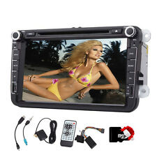 Real Picture 8'' Car DVD Stereo Player GPS Navi Radio BT For VW GOLF JETTA POLO