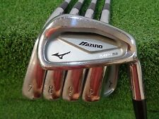 MIZUNO MP-53 6-PW IRON SET KBS TOUR REGULAR FLEX STEEL USED RH MP53 IRONS