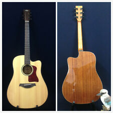 Gosila TKA220 Solid Spruce Top Electric-Acoustic Guitar,Natural,Fishman Isys+ EQ