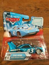 2009 Disney Pixar Cars CHASE the King with metallic finish #120